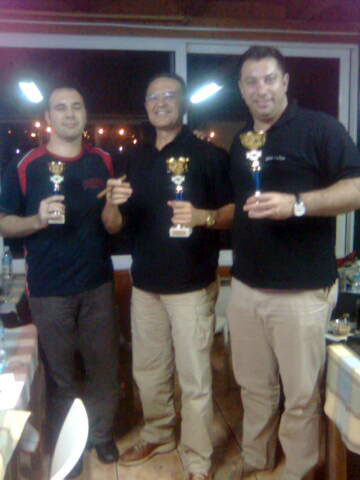 October Backgammon Tournament Winners in Greece